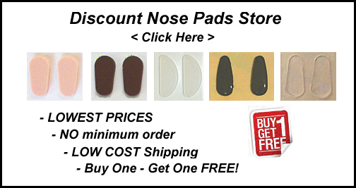Adhesive Nose Pads, Stick On Nose Pads Buyers Guide for Glasses ...